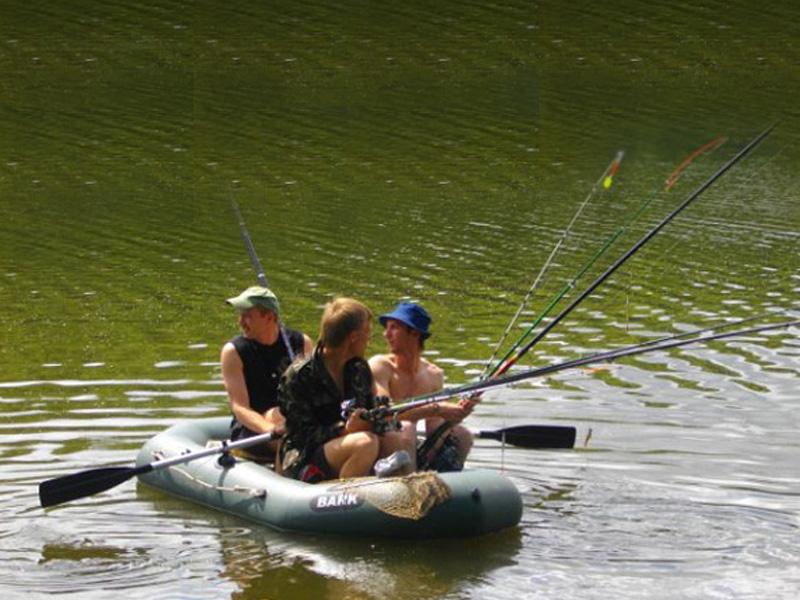 размер катера для рыбалки